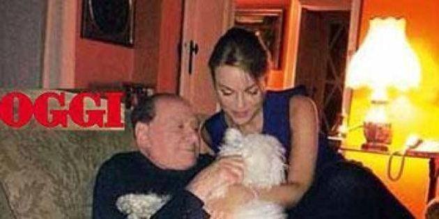 Silvio Berlusconi e Francesca Pascale, relax e tante coccole per il barboncino Dudù