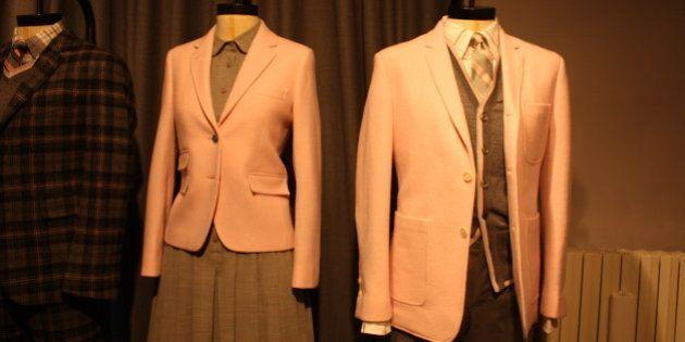 Milano moda uomo: tradizione e novità (di coppia) per l'americano Brooks Brothers