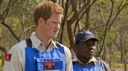 Il principe Harry sulle orme della madre Diana nella campagna antimine