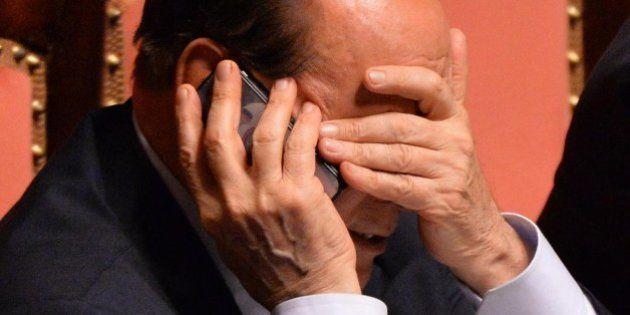 Silvio Berlusconi: nessun effetto diretto dall'interdizione. La partita rimane quella sul voto
