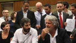 Il blog di Grillo critica ancora i senatori