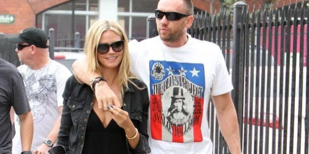 Heidi Klum fa shopping col fidanzato a Los Angeles
