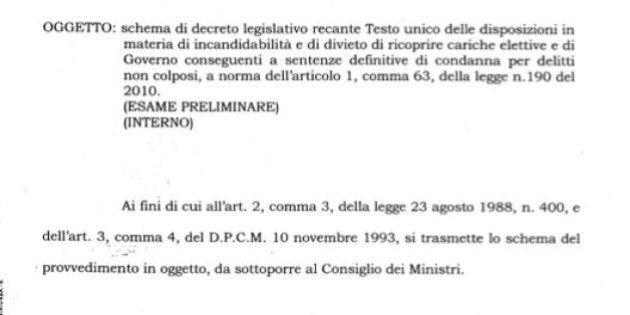 Incandidabilità di Silvio Berlusconi, il governo di Mario Monti era chiaro: la decadenza non è automatica