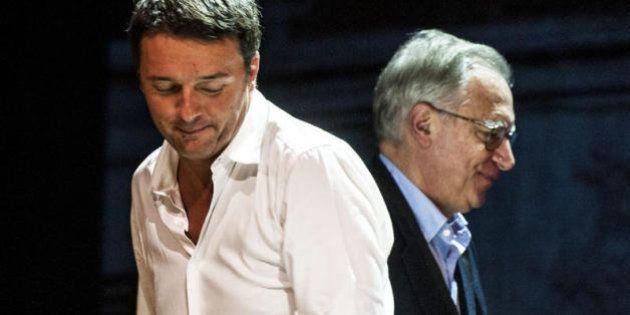 Matteo Renzi scrive sulla rivista di Massimo D'Alema, segnali di pace nella guerra congressuale.