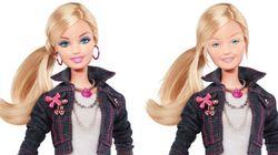 Barbie senza trucco, una di noi