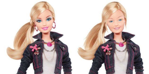 Barbie senza trucco. La bambola più famosa del mondo, al naturale, sarebbe così