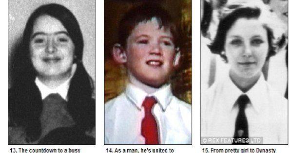 Le star tornano a scuola. Ecco le loro vecchie foto raccolte dal Daily Mail