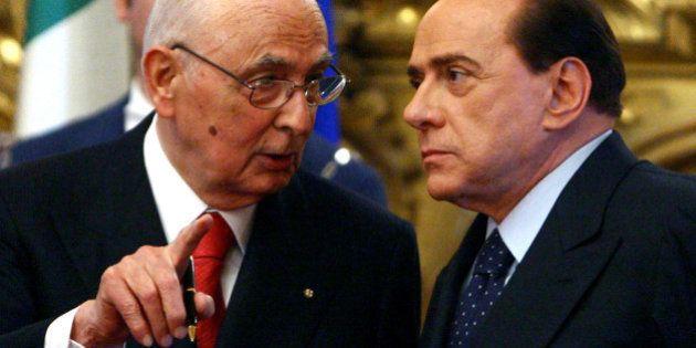 Giorgio Napolitano riceve Silvio Berlusconi al Quirinale: il Cavaliere chiede l'agibilità politica in...