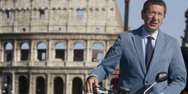 Fori Imperiali, Ignazio Marino: