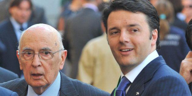 Matteo Renzi rassicura Giorgio Napolitano sulle riforme ma accelera sulla legge elettorale: