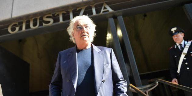 Flavio Briatore interrogato in tribunale: