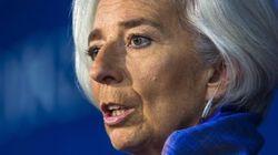 Lagarde bacchetta l'Italia: