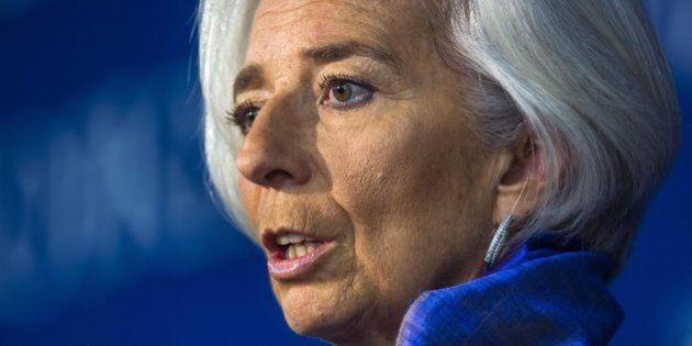 Christine Lagarde bacchetta l'Italia: