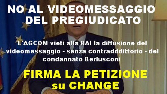 Caro Fico, impediamo alla Rai di mandare il videomessaggio del pregiudicato