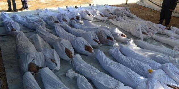 Siria: gas letali contro la popolazione di Damasco, centinaia di morti. La denuncia degli
