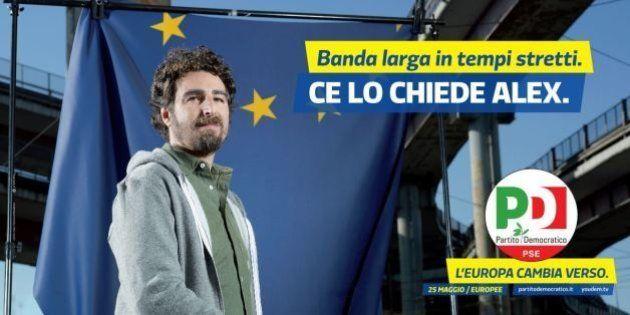 Elezioni europee, il partito democratico presenta i manifesti della campagna di comunicazione