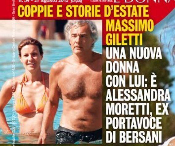 Alessandra Moretti e Massimo Giletti fotografati insieme. Il gossip si scatena sul nuovo amore dell'ex...