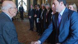 Renzi va da Napolitano: colloquio su riforme costituzionali e