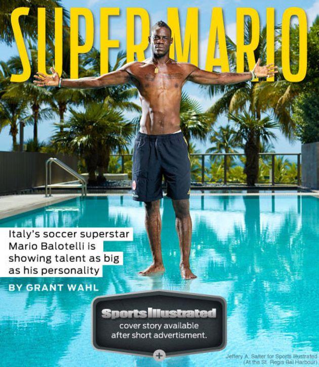 Mario Balotelli, uomo copertina di Sports Illustrated: il razzismo non si può cancellare (FOTO