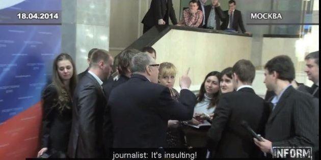 Russia, giornalista incinta minacciata di stupro dal politico pro-Cremlino. L'ordine ai bodyguard:
