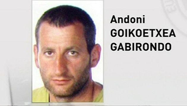 Andoni Goikoetxea Gabirondo, en una imagen de