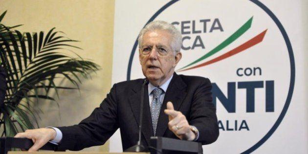 Scelta Civica alla conta, Monti: