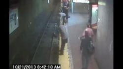 Sonnambula cade sui binari della metro. Ma la salvano