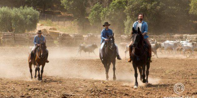Masterchef 3, settima puntata: giudici cowboy e uova di struzzo. Eliminato Marco, ripescata Beatrice
