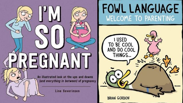 Parenting Cartoon Books