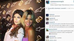 Canalis-Corvaglia, su Instagram le foto insieme delle ex veline. Un'amicizia lunga più di 10 anni