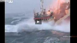 Fa venire il mal di mare solo a guardarlo