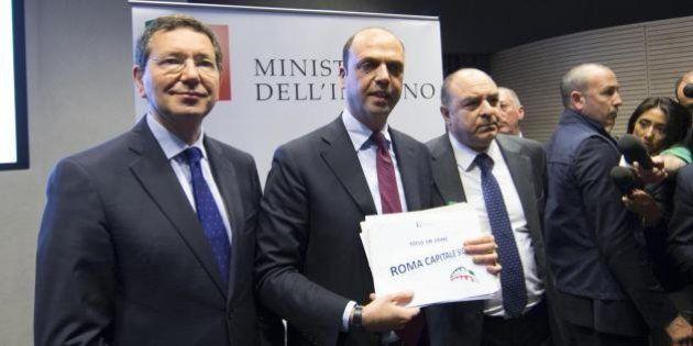 Il patto per Roma sicura e la giustizia