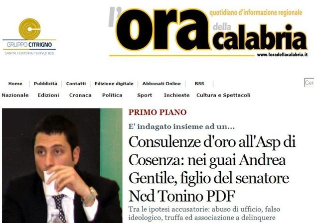 Antonio Gentile: il Nuovo centrodestra difende il sottosegretario. Lui: