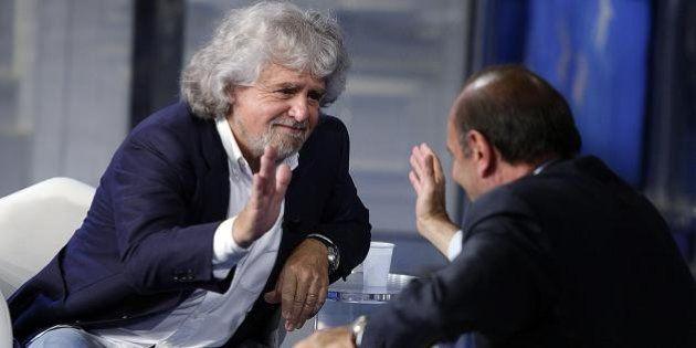 Beppe Grillo: ultimi giorni di campagna elettorale
