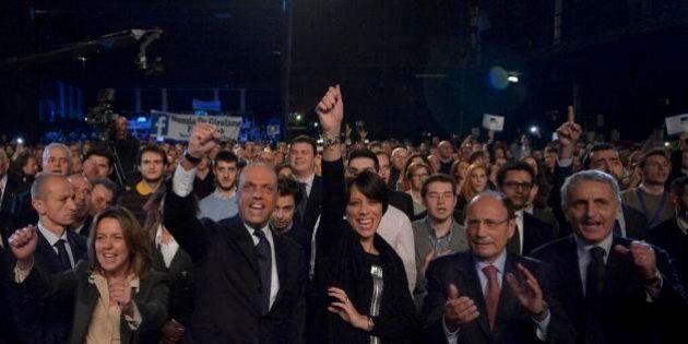 Angelino Alfano inaugura la prima convention di Ncd sulle note di