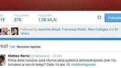#matteorisponde, il premier su Twitter risponde alle domande dei suoi follower