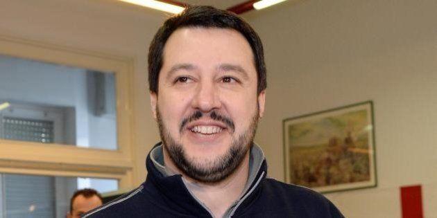Primarie Lega, vince Matteo Salvini con l'82%. Umberto Bossi si ferma al