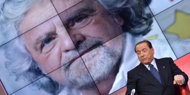 Grillo erede di Berlusconi, ovvero l'involuzione della