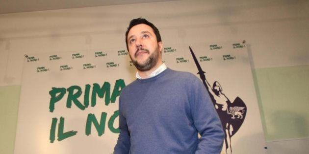 Matteo Salvini segretario della Lega. E domenica prossima accoglie Le Pen, Wilders e il braccio destro...