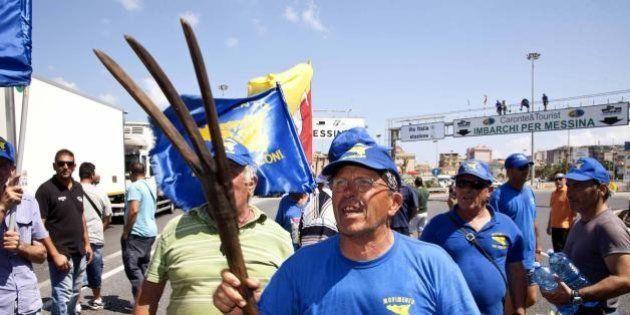 Forconi da domenica in sciopero: l'Italia rischia la