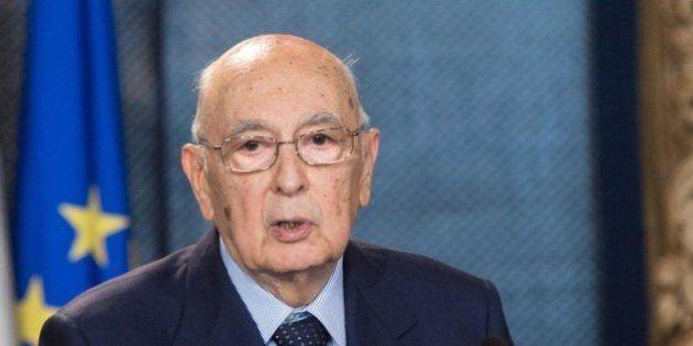 Marò, Giorgio Napolitano: