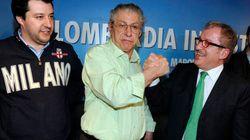 Bossi, Salvini e gli