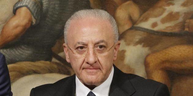 Infrastrutture, Vincenzo De Luca attacca Maurizio Lupi: