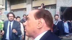 Berlusconi arriva nella sede Uepe per firmare le prescrizioni: