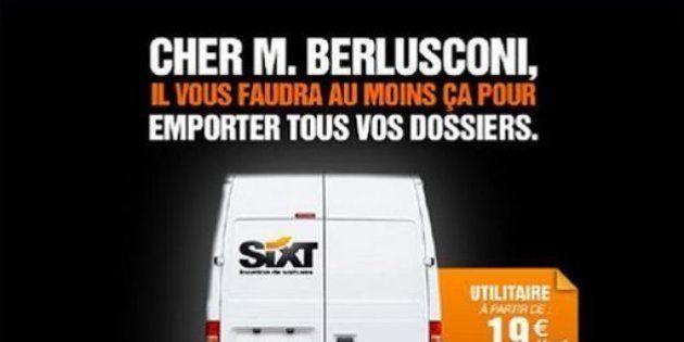 Silvio Berlusconi, lo spot dell'agenzia di noleggio Sixt che ironizza sul Cav: