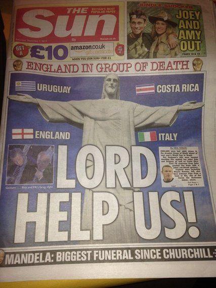 Il girone mondiale visto dai media
