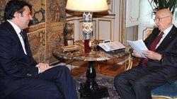 Napolitano si congratula con Renzi