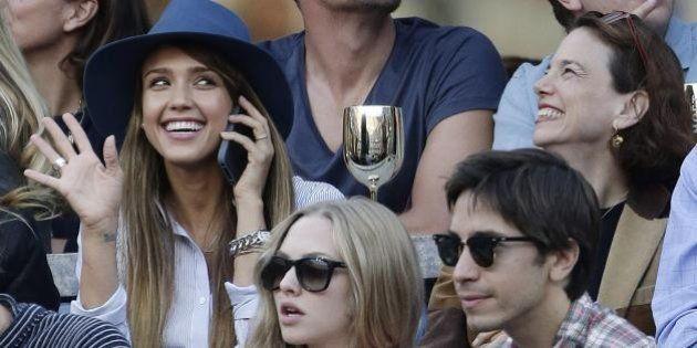 US Open: vince Nadal. David Beckham, Leonardo Di Caprio, Jessica Alba. Tutti i vip in tribuna