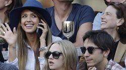 US Open, tennis: Hollywood fa il tifo dagli spalti