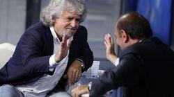 Il Sistema, da Vespa a Berlusconi, pompa Grillo per fregare il Pd di